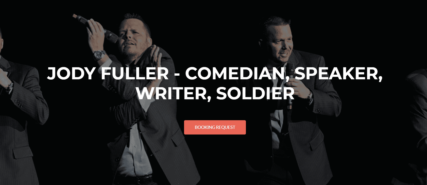 Jody Fuller – JODY FULLER – COMEDIAN, SPEAKER, WRITER, SOLDIER